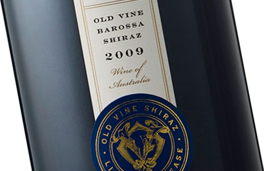 Old Vine Barossa Shiraz Wine Label Design