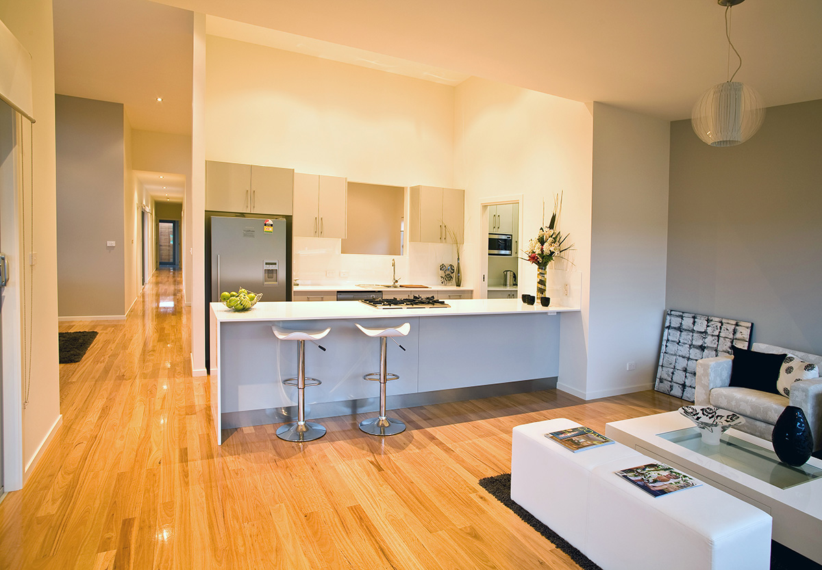 Retro Display Home Fisher Design  Architecture Services Coffs - Display home interiors